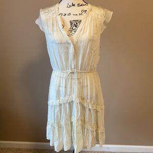Anthropologie Silk Tiered Dress - size 12